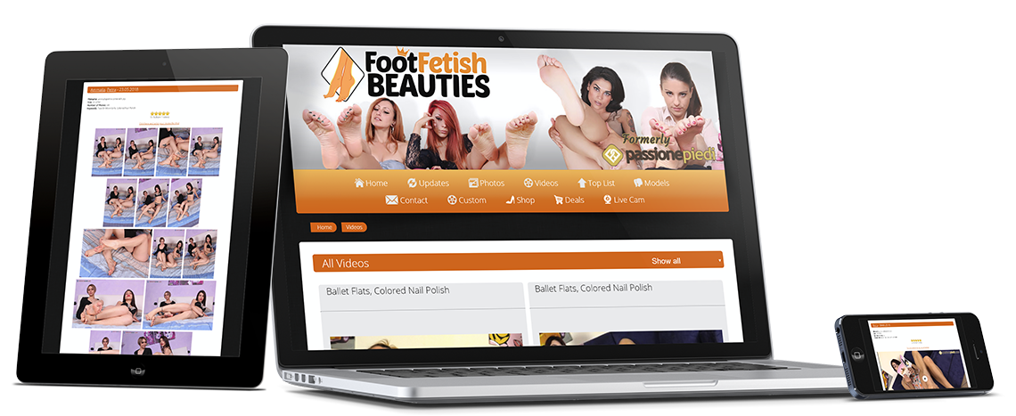 Utilizza FootFetishBeauties da tutti i tuoi dispositivi: Smartphone, Tablet, PC, Smart TV
